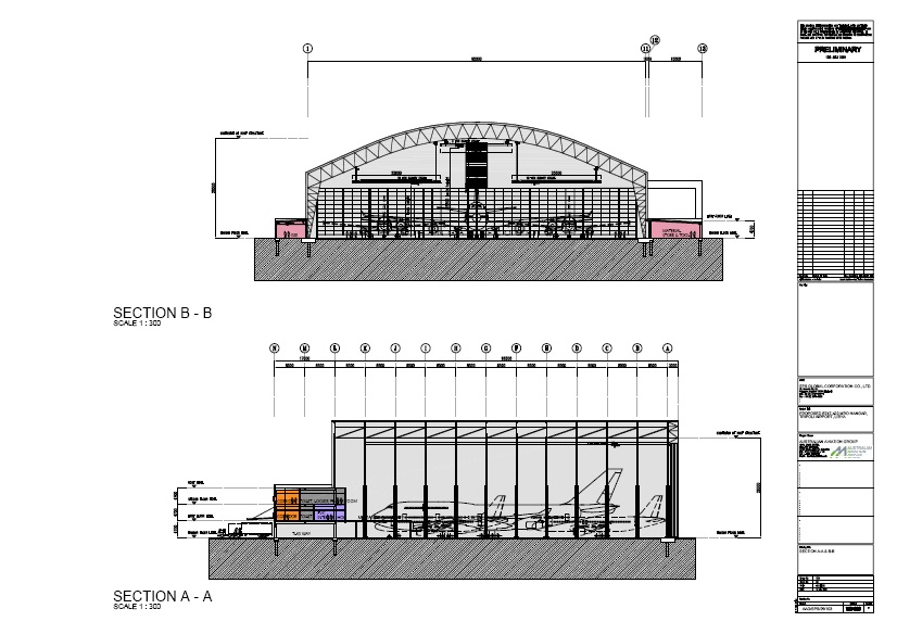Airfield maintenance facilities nvalid engineering for Aircraft hanger designs